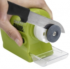 Electric Sharpener for a Knife Swifty Sharp Precision Power Diamond Motorized green one size