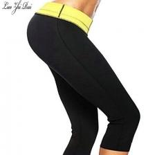 Shapers Neoprene Slimming Shaping Self-heating Girls Slimming Pants Body Shaper black L