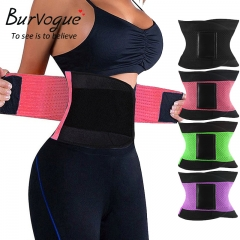 Women Waist Trainer Waist Training Corsets Body Shaper Fajas Reductoras Girdle Control purple xl