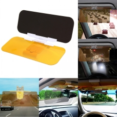 Automobile Car Visor Goggles HD Vision Easy View Flip Down Anti-Dazzle Mirror Sun-Shading