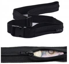 Secret Travel Waist Money Belt Hidden Security Zip Pouch Anti-theft Hidden Wallet