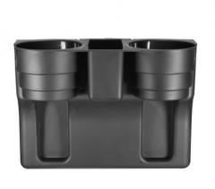 Universal Auto Truck Car Valet Organizer Storage Box Drink Water Bottle Cap Holder