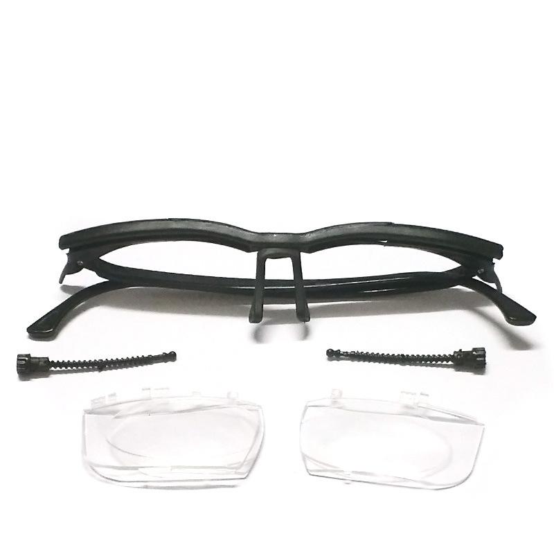 46b7ed5428d6 Unisex Men Dial Eye Glasses Adjustable Reading Glasses Vision Reader ...