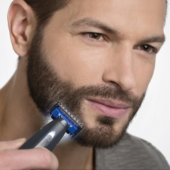 For MicroTouch Micro Touch SOLO Rechargeable Trims Edges Razor Shaver black one  size