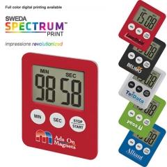 Mini Slim Magnetic LCD Digital Kitchen Timer Countdown Cooking Timer Alarm Clock