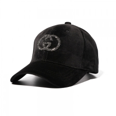 Fashion Creative Pattern Baseball Hat Trend Wild Outdoor Couple Caps black one size