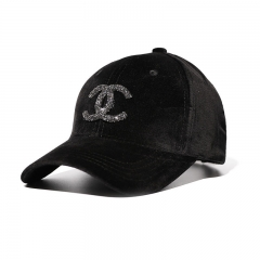Thickening men and women Autumn And Winter Creative Baseball cap Leisure Caps Fashionable Couple hat black one size