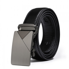 Men Belt Youth Automatic Buckle Trend Belt Wild Business Leisure Belt black one size