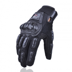 Motorcycle Gloves Off-road Locomotive knight All Means gloves Outdoor Riding Racing Gloves black m