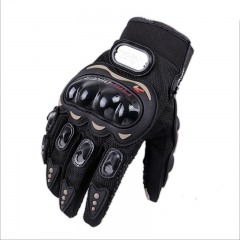 Motorcycle Gloves Outdoor Movement Electric car Racing Touch screen Gloves black m