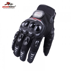 Mountain Off-road Motorcycle Gloves Outdoor Riding All Means Touch Screen Protection gloves black m