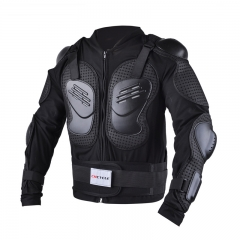 Motorcycle Armor Electric Car Riding Protective Armor Outdoor Off-road Riding Armor black m