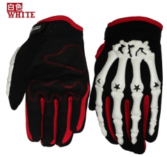 Motorcycle Racing Bicycle Gloves Electric Off-road mMotorcycle All Means Battery car gloves white xl