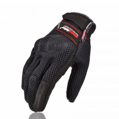 Motorcycle Summer Breathable Movement Outdoor Racing Riding Off-road Gloves black red m