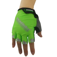 Bicycle Riding Gloves Outdoor Transparent Movement Wear-resistant Bicycle Gloves green xxl
