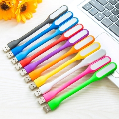 LED lights   notebook USB Millet light Computer lights Keyboard lights Soft light random color 17*1 1.2w