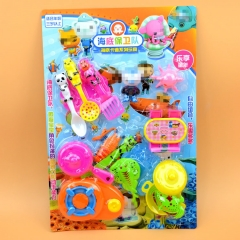 Child Play House toy Simulation Kitchen toy Tableware Suction Plate Dream Kitchen toy colour one size