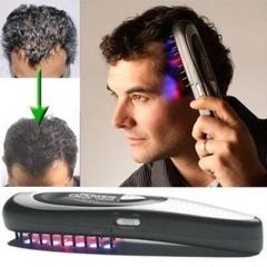 Laser Massage Combs Hair Comb Hair Growth Care Treatment Hair Health Repair Growth black one  size