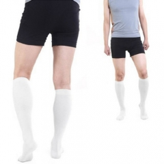 1 Pair Miracle Varicose Vein Stocking Socks Antifatigue Compression Stockings Soothe Tired Achy Legs white L/XL