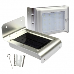 Solar Energy Body Sensor light intelligent Led Light Control Outdoor Patio Garden Street light white 150*95*90(mm) 0.55w