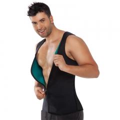 Fitness Control Corset Ultra Sweat Men''s Neoprene Vest Shapewear Sports black S