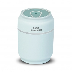 Creativity Cans Humidifier Mini Portable Silent Bedroom Desktop Small USB Humidifier Triple blue one size