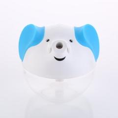 Auspicious icons Humidifier USB Mini Household led Luminous Air Filter white one size