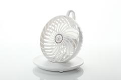 Coffee Cup Fan USB Small Fan office Hanging Student Wind Force Desktop Fan white