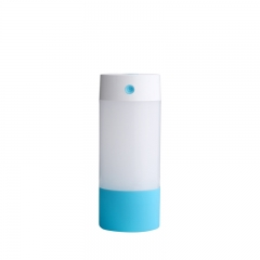 Mini USB Night light Aromatherapy Machine Silent Office Desktop Home Creativity Humidifier blue one size