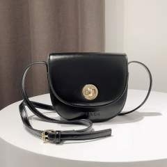 Ms Simple Fashion Shoulder Crossbody Bag Wild Temperament Vintage Small Party Package black one size