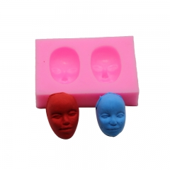 Baking Tool High Temperature Resistance Liquid State Silica Gel Mask Fondant Cake Mould red one size