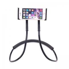 Mobile Phone Holder Hanging Neck Lazy Necklace Bracket Smartphone Holder Stand For black one size