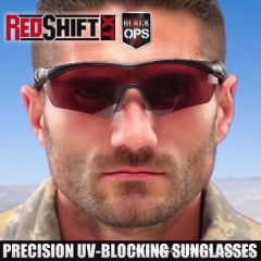Shift XT Tactical Precision Vision Glasses Block UVA & UVB Rays Color RED Sunglasses Oculos De Sol red one size