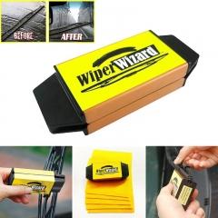 Car Windshield Wiper Wizard Blade Restorer with 5pcs Wizard Wipes Van Windscreen Cleaner