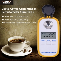 Digital Display Coffee Concentration Meter Coffee Sugar Meter Brix TDS Dual-use type