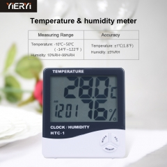 Indoor and Outdoor Display Thermometer High Precision Electronic Thermometer With Temperature Sensor
