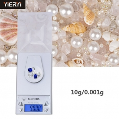 10 Grams High Precision 10g/0.001g Electronic Tianping Jewelry Scale Pocket Scale Gold Scale Weights white one size