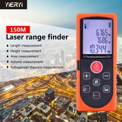 150m Distance Laser rangefinder Electric Gauge Laser Ruler Handheld infrared Measuring instrument