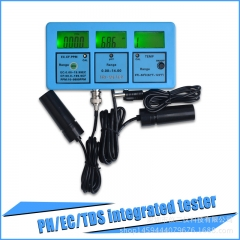Multi-parameter Water Quality Monitor PH Temperature Conductivity EC/ CF/ TDS/ Water quality Tester