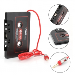 3.5mm Jack Plug Car Cassette Tape Cassette Mp3 Player Converter For iPod iPhone MP3 CD Player black