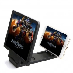 Screen Magnifier Eyes Protection Display 3D Video Screen Amplifier Folding Enlarged Expander Stand black one size