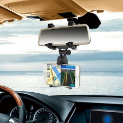 The New car Rearview Mirror Car Multifunction navigation Mobile phone Bracket
