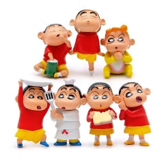 Creative Personality Xiaosheng Snack Food Hand Doll Decoration Keychain 7 set one size