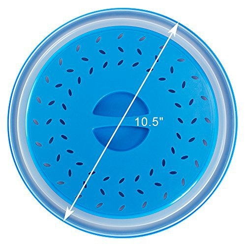 Foldable Microwave Oven Cover Lid Colander Strainer Kitchen Supply Tools Gadgets