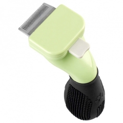 Pet clean Supplies pet Comb Dog comb Hair Removal Comb pet Hair Removal brush 1 one size