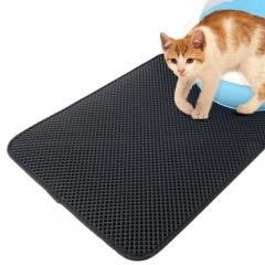 Cat litter pad Dog Sand Pad Household Pet Mat Dog Pad Falling Sand Waterproof Mat pet Cat litter Pad black s