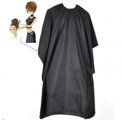 Cape Apron Adult Hair Cut Hairdressing Waterproof Cloth Barber Cape Hairdresser Hair Styling black one size