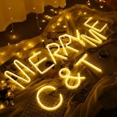 Neon Illuminate led Lantern English Letter light Love hill Bit arrow concert Night light 1 one size 1w