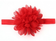 Baby Headband Headband accessories Headband flower princess Headwear Hair accessories red