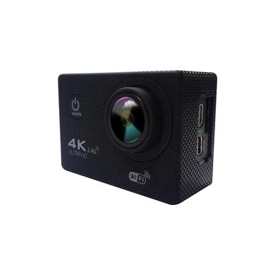 F60R 4k WIFI Remote Action camera 1080p HD Style Helmet Cam 30 meters waterproof Sports DV camera black one size
